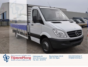 Mercedes sprinter open laadbak
