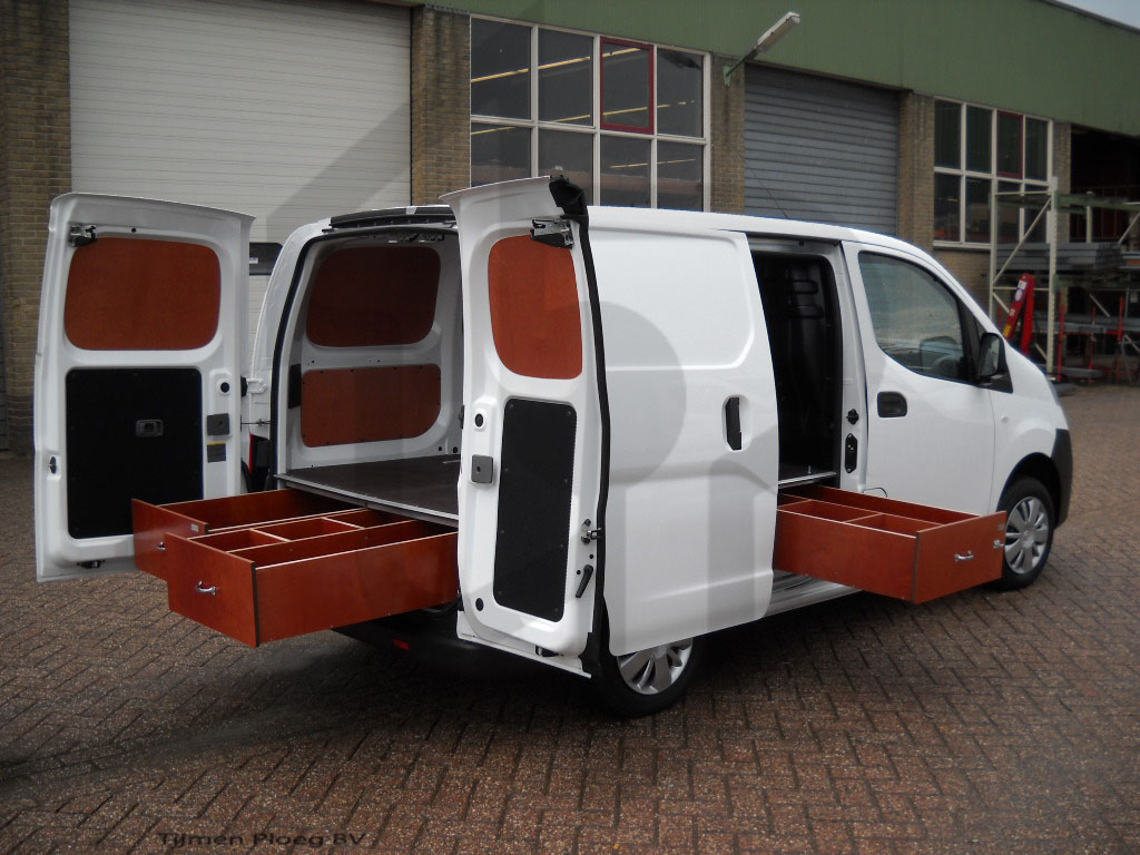 Nissan NV200 laden en vloer
